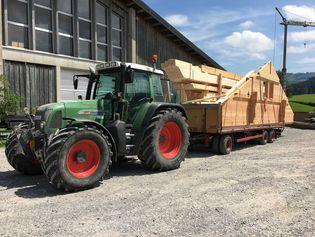 Transport und Lieferung