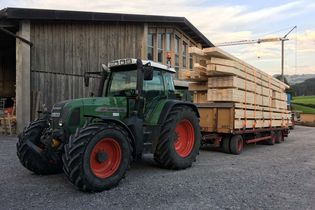 Holzabbund Sutter Transport